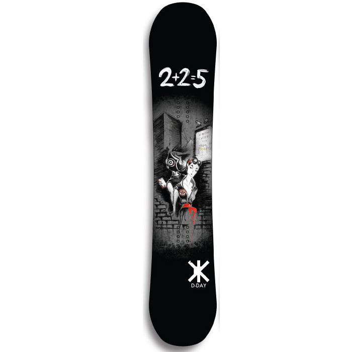 4d287576a7e8 D-Day Ben Bilocq Pro Model Snowboard