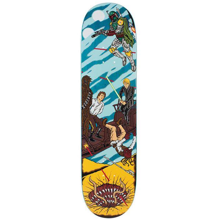 Santa Cruz Star Wars Sarlacc Pit Scene Skateboard Deck 8 0