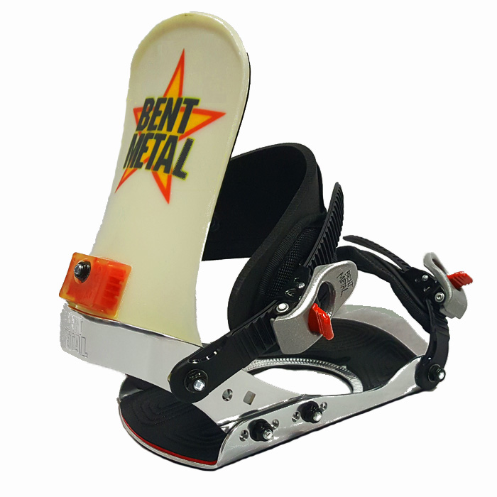 Details about  /Bent Metal Snowboard Bindings Lib Tech