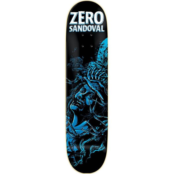 Zero apocalypse impact light sandoval skateboard deck 8125 at description aloadofball Image collections