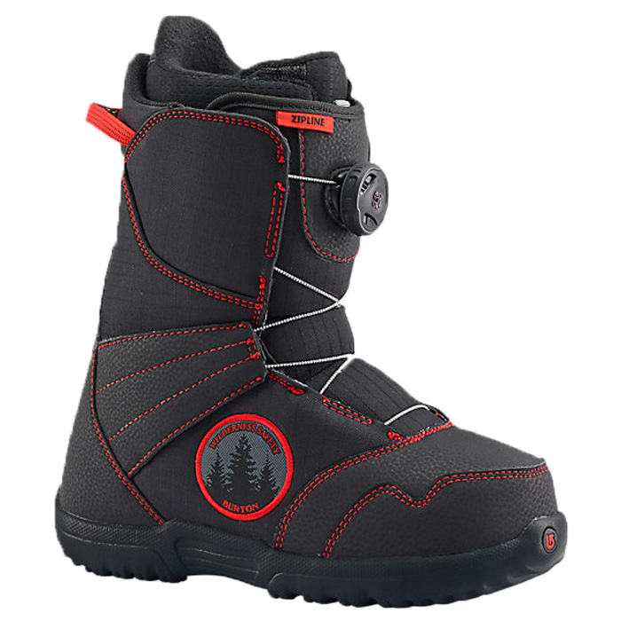 Burton Zipline Boa Kids' Snowboard Boots At Salty Peaks