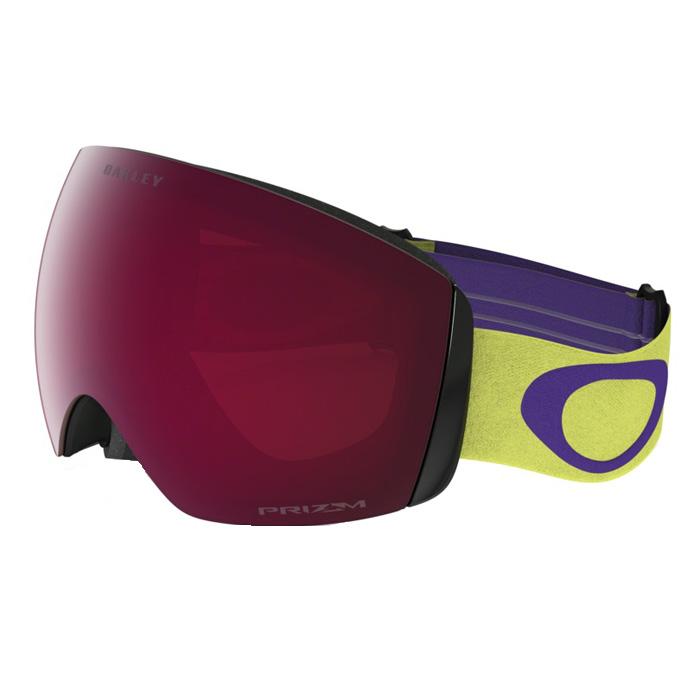 0f31bd20e77 Oakley Flight Deck XM Citrus Purple Snowboard Goggles at Salty Peaks
