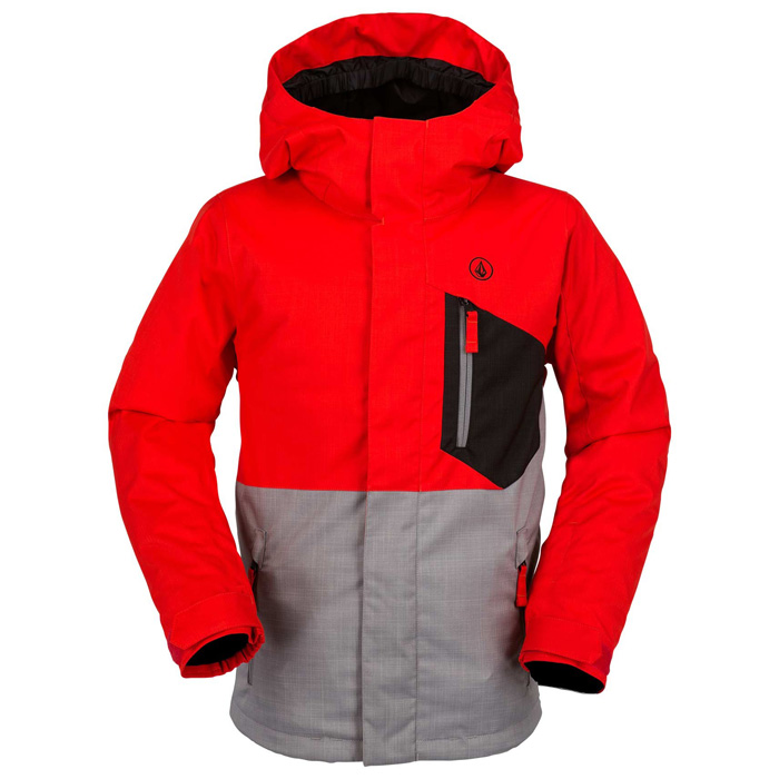 0a1a7d9a297e Volcom Elias Insulated Youth Snowboard Jacket at Salty Peaks