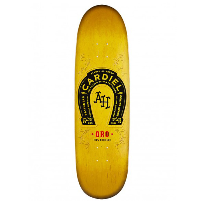 91f3f0e16a4f3 Anti Hero Cardiel Oro Skateboard Deck 9.2 at Salty Peaks