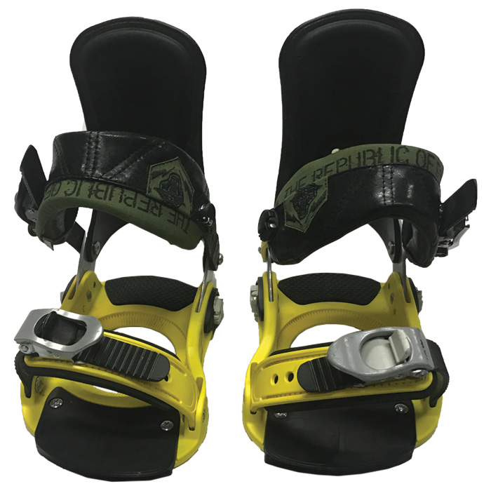 6e1fa964a781 Forum ATP with New Straps Small Medium Snowboard Bindings