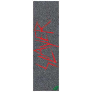 MOB Slayer Scratchy Red Skateboard Grip Tape