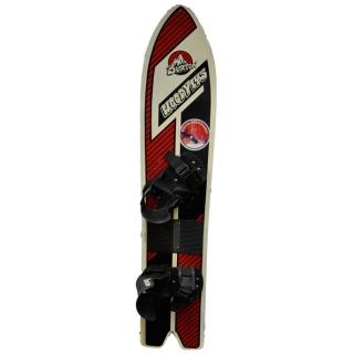 Burton Vintage 1987 Woody Snowboard 145 At Salty Peaks