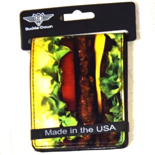 Buckle-Down Hamburger Wallet