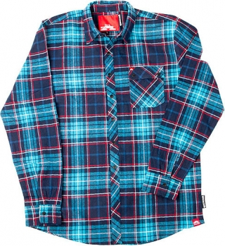 Spacecraft Plaid Woven Flannel