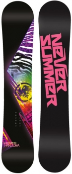 Never Summer Women\'s Pandora Snowboard