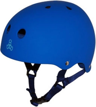 Triple Eight Brainsaver Rubber Helmet BRB