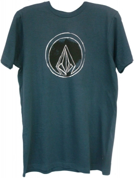 Volcom Men\'s Woodcut Stone Slim Tee