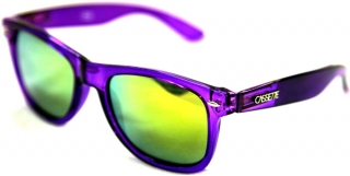 Cassette OG Translucent Purple Sunglasses