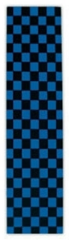 FKD Grip Tape Checkered Dark Blue Sheet