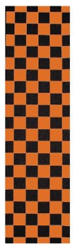 FKD Grip Tape Checkered Orange Sheet