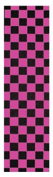 FKD Grip Tape Checkered Pink Sheet