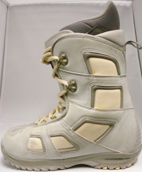 Burton Freestyle Snowboard Boots Grey - Size 7.5