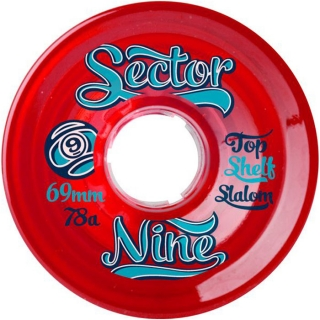 Sector 9 9 Ball Longboard Wheels 69mm