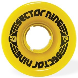 Sector 9 9 Ball Longboard Wheels 59mm