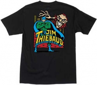 Santa Cruz Skateboard Re-Issue Santa Monica Airlines Jim Thiebaud Joker Tee