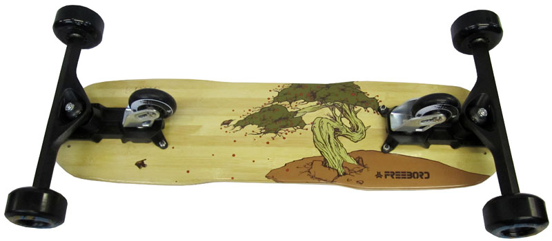 freebord bamboo at salty peaks