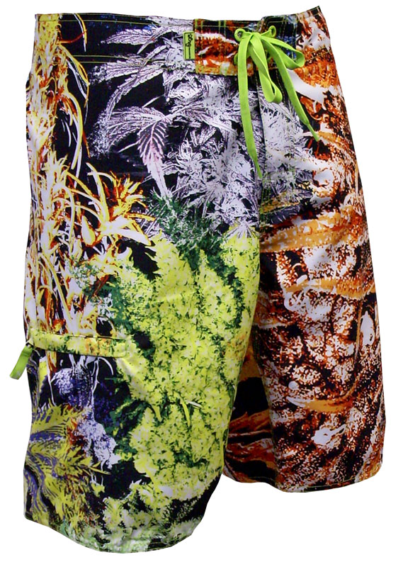 9163939f5f847 Description · Specs · Sizing · Reviews · Video. LRG's Rich Greens  boardshorts.