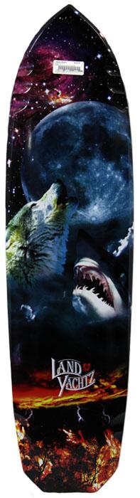 "Landyachtz Wolf Shark Deck 37"" at Salty Peaks"