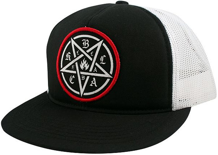 6c2feb861b1 Black Label Pentagram Trucker at Salty Peaks