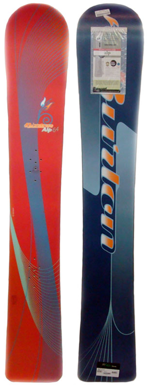 Burton Amp Alpine/Race Snowboard 164cm at Salty Peaks