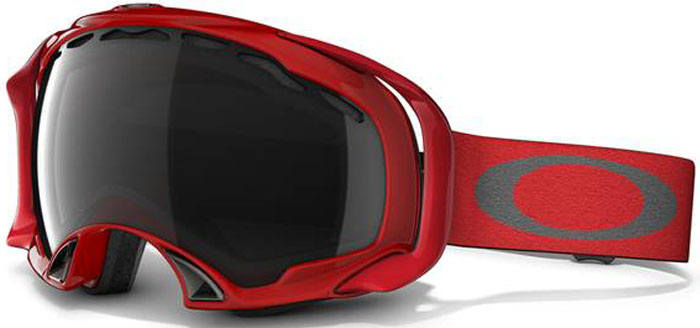 oakley splice goggles  Oakley Splice Viper Red Goggles at Salty Peaks