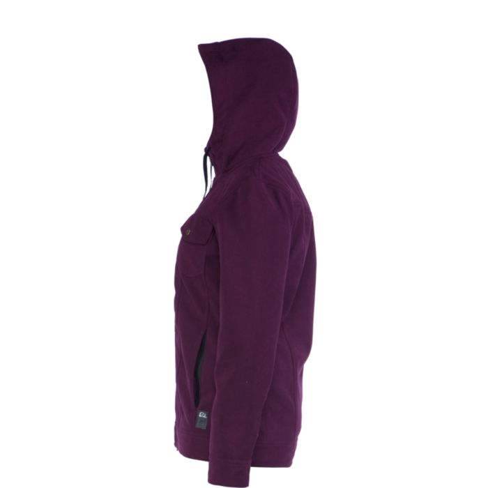 f51e911c2 Ride Haller Bonded Fleece Womens Snowboard Jacket 2014 at Salty Peaks