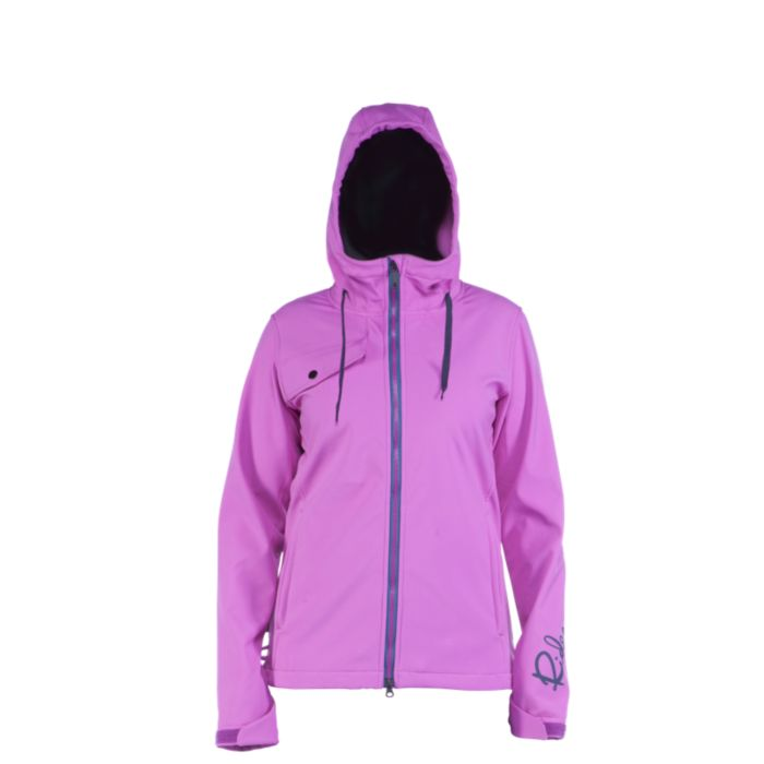 Ride Roxbury Bonded Poly Fleece Womens Snowboard Jacket 2014 at ...