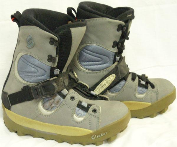 Shimano Half Cap Step-In Snowboard Boots [Grey #80] Women