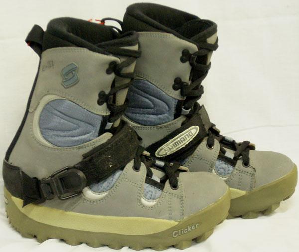 Shimano Half Cap Step-In Snowboard Boots [Grey #79] Women