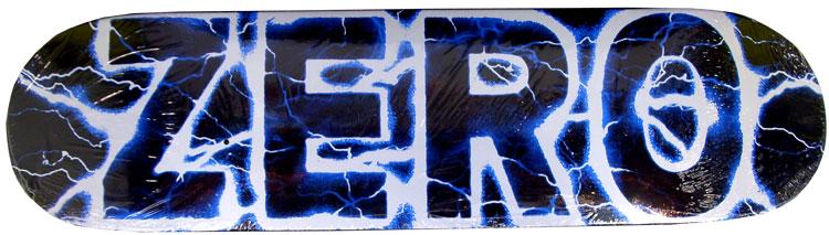 Lightning Skateboard Decks Zero Lightning Blue Deck