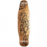 Loaded Poke Bamboo Longboard Deck 34