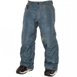 686 Limited Edition Destructed Denim Snowboard Pants - Boys'