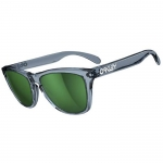 Oakley Frogskins Sunglasses Black Crystal