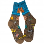 Lib Tech Beardo Skateboard Socks