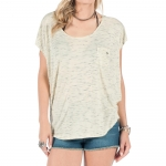 Volcom Lived In Slub Circlet Tee - Women's