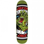 Santa Cruz Rob Hand Green Skateboard Deck 8.5