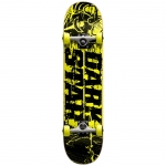 Darkstar Splatter Mini Complete Skateboard 7.3