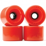 Kryptonics Star Trac Longboard Wheels Red 65mm