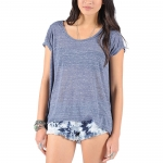 Volcom Lived In Sheer S/S Tee