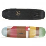 Loaded Cantellated Tesseract Longboard Deck 36