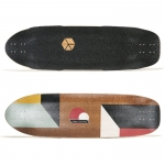 Loaded Truncated Tesseract Longboard Deck 33