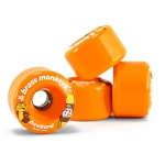 Freebord Brass Monkey Wheels 72mm Orange