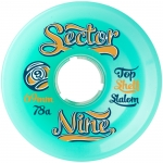 Sector 9 9-Balls Slalom Longboard Wheels 69mm 78a