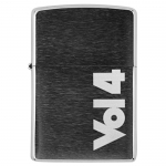 Volume 4 Brush Chrome Zippo