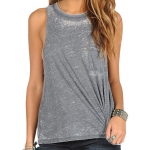Volcom Lived In Burnout Tank Top - Women's